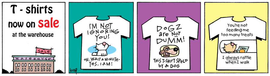 Ten Cats Comic Strip for July 12, 2017