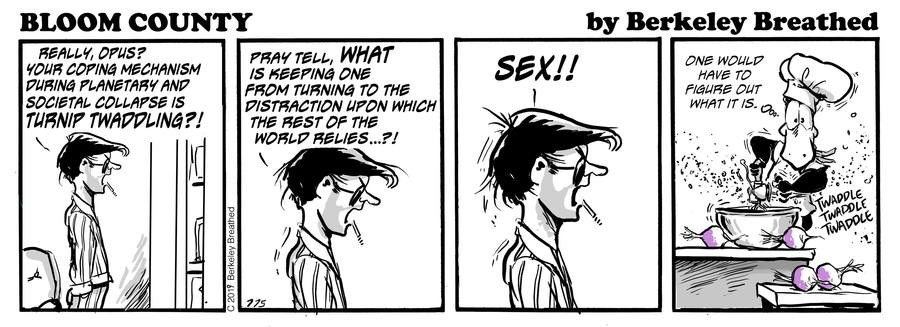 Bloom County 2018 by Berkeley Breathed for May 12, 2019
