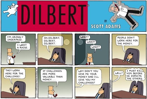 Dilbert on Sunday June 25, 2000 Comic Strip