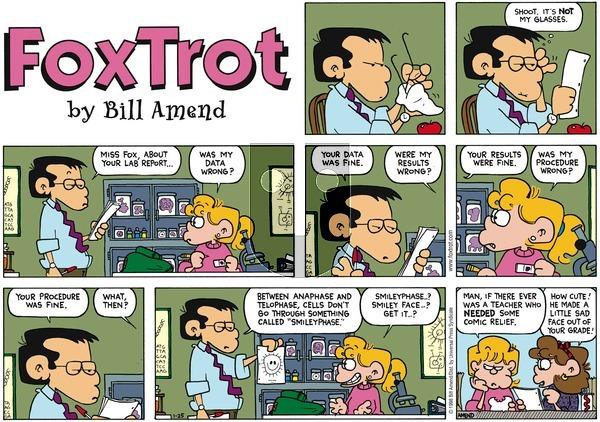 FoxTrot on Sunday January 25, 1998 Comic Strip