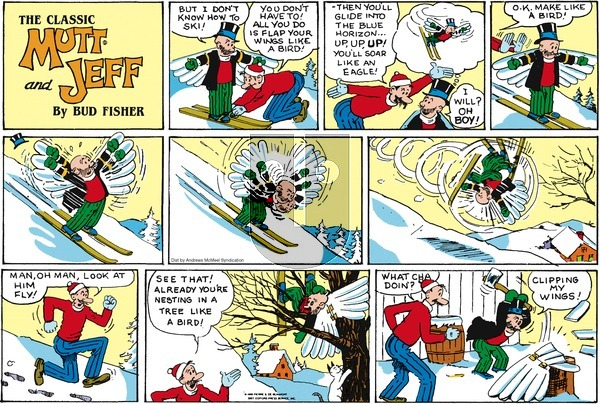 Mutt & Jeff on Sunday February 3, 2019 Comic Strip