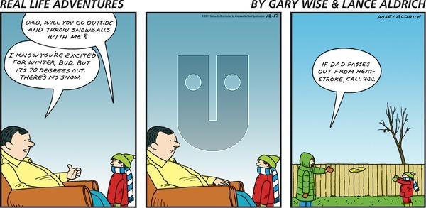 Real Life Adventures on Sunday December 17, 2017 Comic Strip