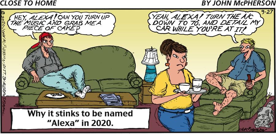 Close to Home Comic Strip for September 27, 2020
