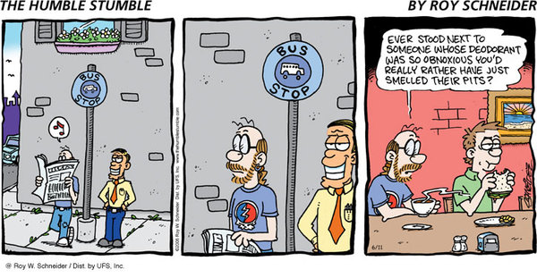 The Humble Stumble for Nov 25, 2012 Comic Strip