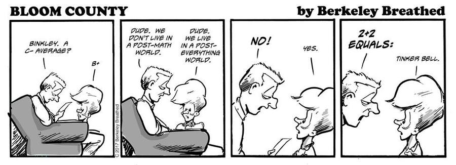 Bloom County 2019 Comic Strip for March 28, 2017