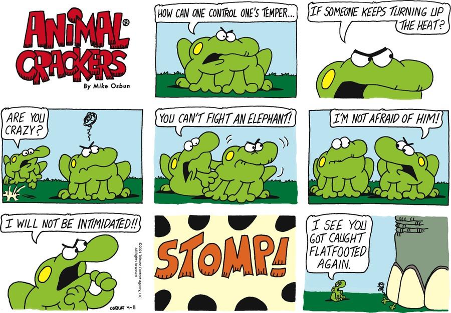 Animal Crackers Comic Strip for April 11, 2021
