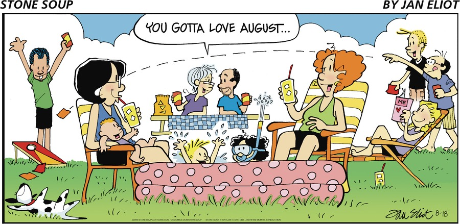 Stone Soup Comic Strip for August 18, 2019