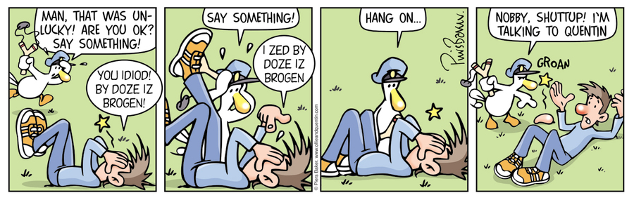 Ollie and Quentin Comic Strip for May 07, 2016