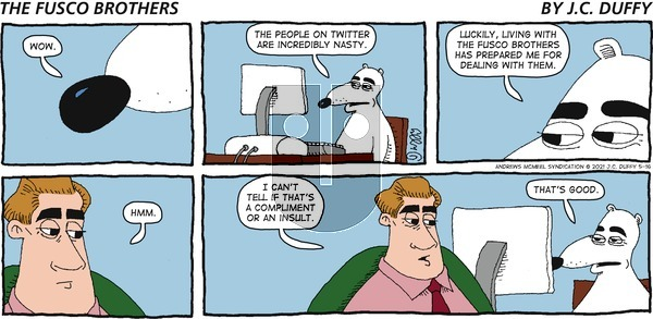 The Fusco Brothers on Sunday May 16, 2021 Comic Strip