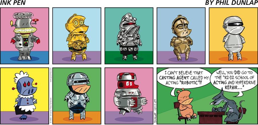 Ink Pen Comic Strip for October 11, 2009