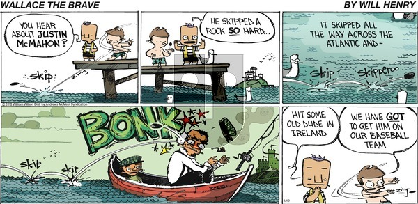 Wallace the Brave on Sunday August 12, 2018 Comic Strip
