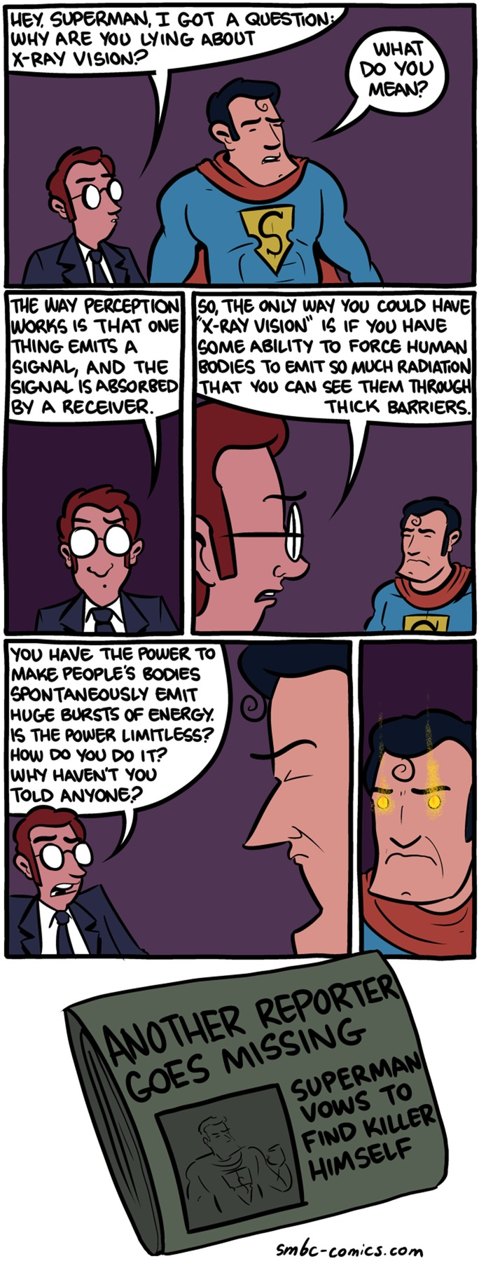 Saturday Morning Breakfast Cereal Comic Strip for October 04, 2015