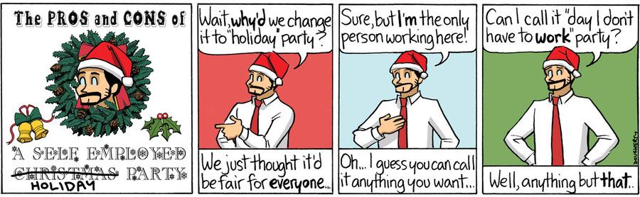 Beardo for Dec 23, 2013 Comic Strip