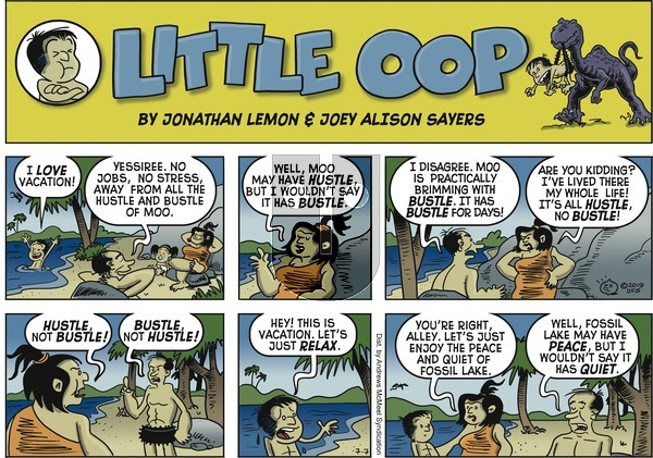 Alley Oop on Sunday July 7, 2019 Comic Strip