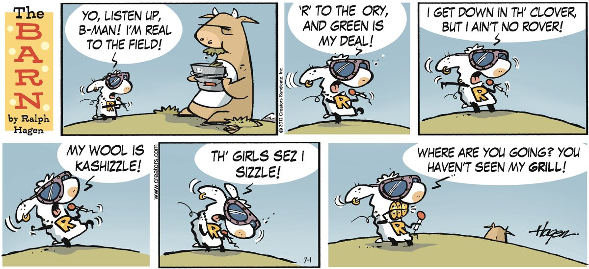 The Barn Comic Strip for July 01, 2012