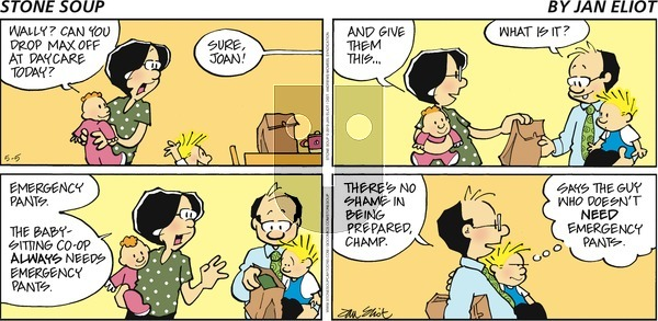 Stone Soup on Sunday May 5, 2019 Comic Strip