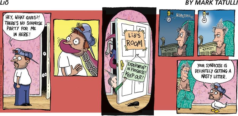 Lio Comic Strip for April 22, 2012