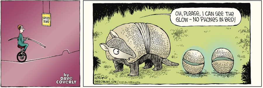 Speed Bump by Dave Coverly on Sun, 02 May 2021
