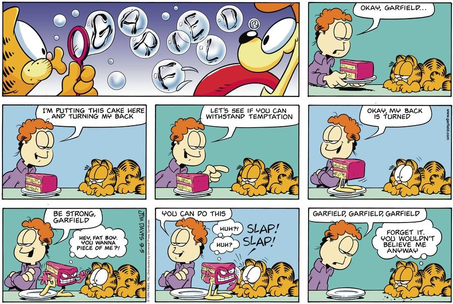 Garfield Comic Strip for September 05, 1999