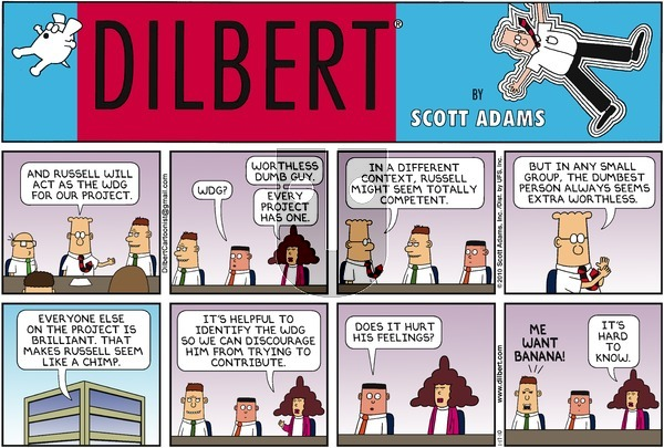 Dilbert - Sunday January 17, 2010 Comic Strip