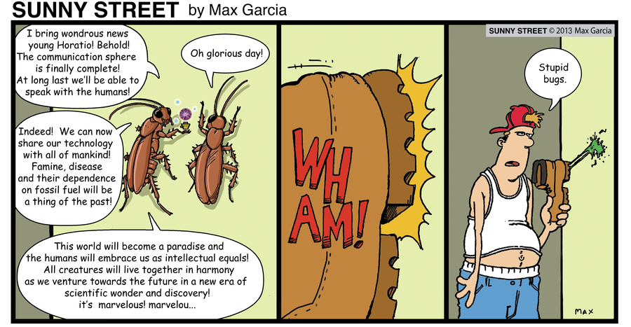 Sunny Street Comic Strip for May 17, 2013