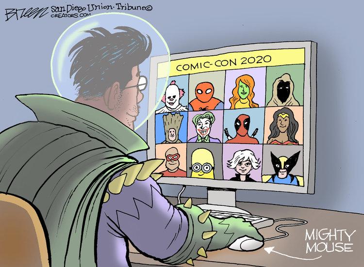Steve Breen Comic Strip for July 23, 2020