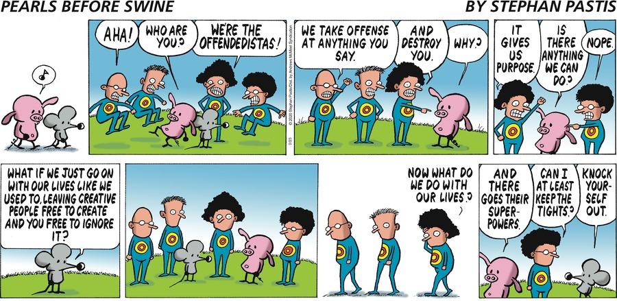 Pearls Before Swine Comic Strip for February 23, 2020