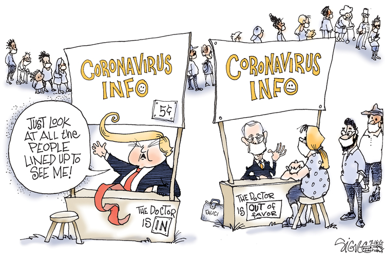 Signe Wilkinson Comic Strip for July 16, 2020