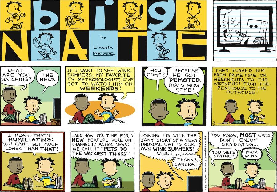 Big Nate for Mar 3, 2013 Comic Strip