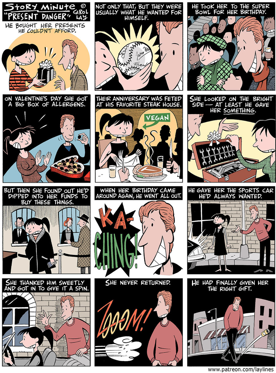 Lay Lines Comic Strip for September 16, 2019