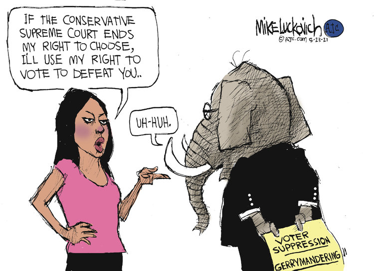 Mike Luckovich Comic Strip for May 23, 2021