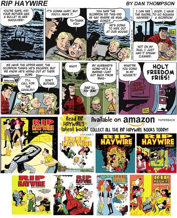 Rip Haywire on Sunday February 10, 2019 Comic Strip