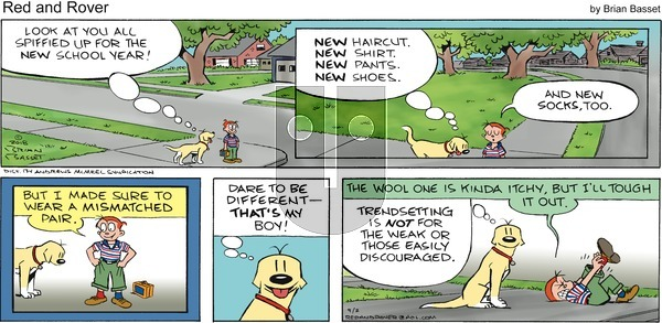 Red and Rover on Sunday September 2, 2018 Comic Strip