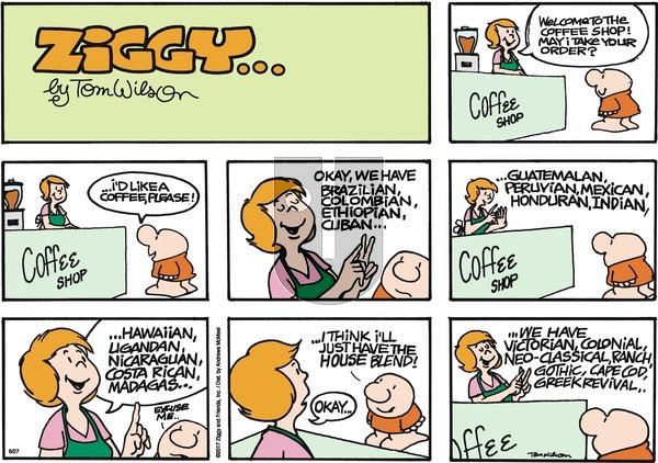 Ziggy on Sunday August 27, 2017 Comic Strip