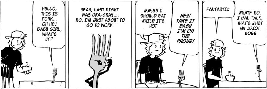 Ordinary Bill Comic Strip for April 08, 2020