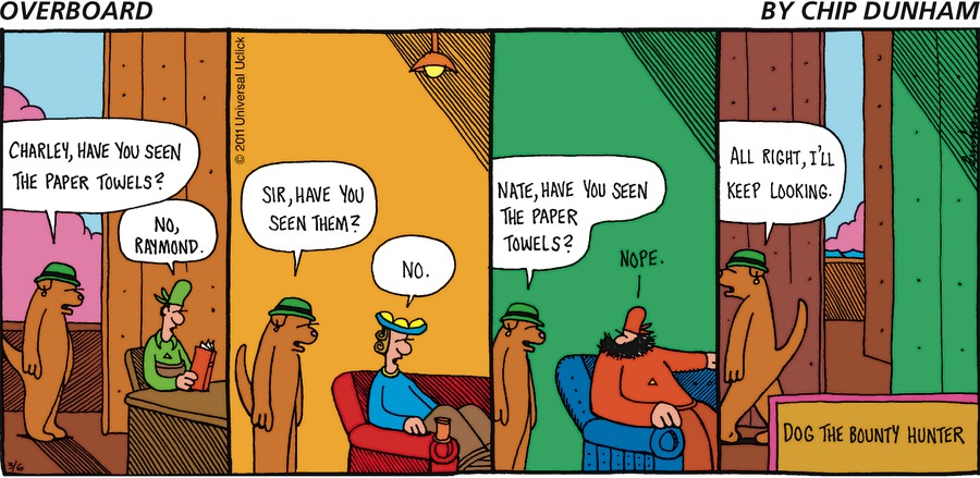 Overboard Comic Strip for March 06, 2011