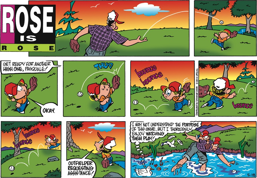 Rose is Rose for May 18, 2014 Comic Strip