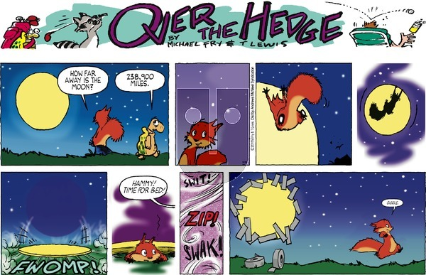 Over the Hedge on Sunday May 26, 2019 Comic Strip