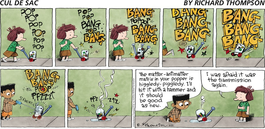 Cul de Sac Comic Strip for August 25, 2019