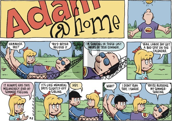 Adam@Home on Sunday September 2, 2018 Comic Strip