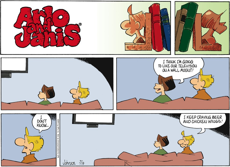 Arlo and Janis for Jul 19, 2015 Comic Strip