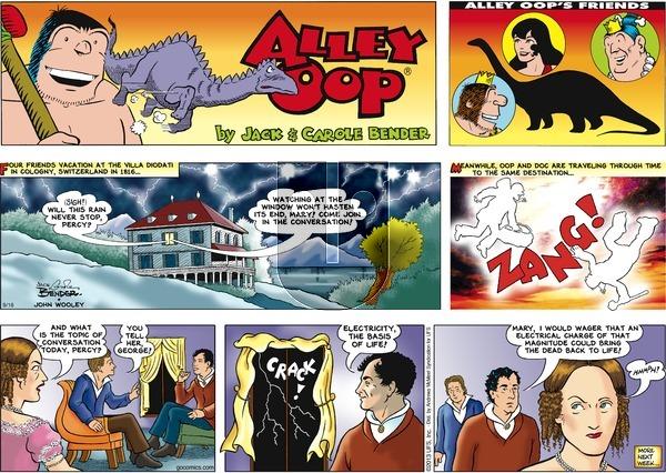 Alley Oop on September 16, 2018 Comic Strip