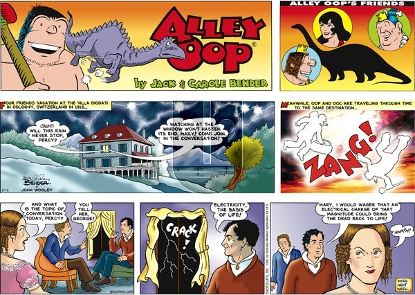Alley Oop on Sunday September 16, 2018 Comic Strip