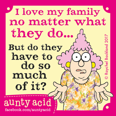 Aunty Acid for May 15, 2017 Comic Strip