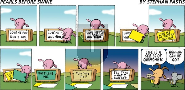 Pearls Before Swine - Sunday March 12, 2017 Comic Strip