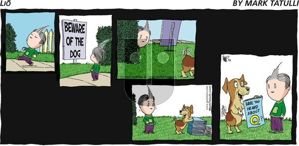 Lio on Sunday September 13, 2020 Comic Strip