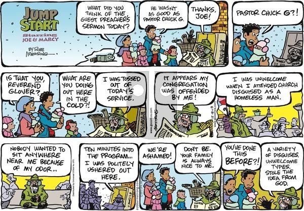 JumpStart on Sunday December 8, 2013 Comic Strip