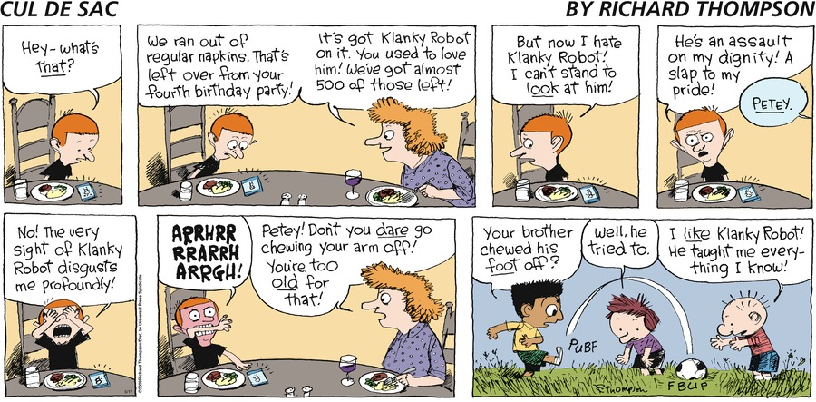 Cul de Sac for May 17, 2009 Comic Strip