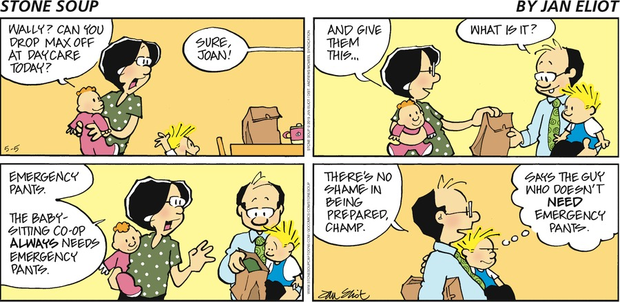 Stone Soup Comic Strip for May 05, 2019