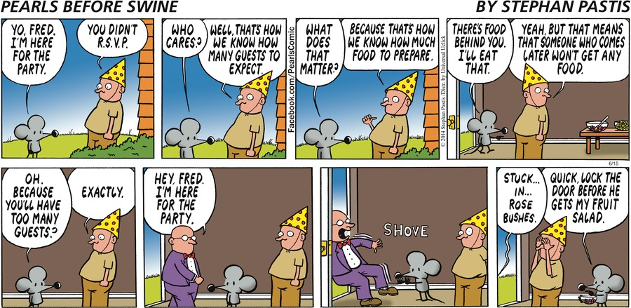 Pearls Before Swine for Jun 15, 2014 Comic Strip